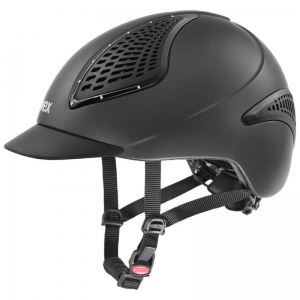 "Kask UVEX ""Exxential II Glamour"" antracyt"
