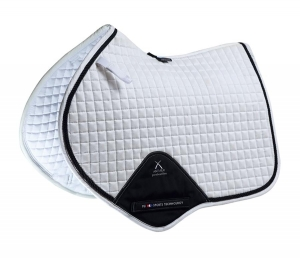 "Czaprak PREMIER EQUINE ""Techno Suede Close Contact Jump""  white"
