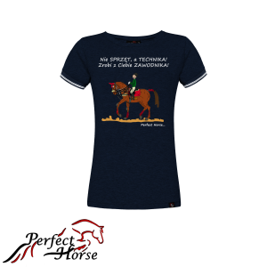 "T-shirt damski Perfect Horse ""Cartoon II Technika"""