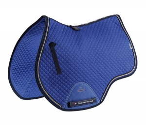 "Czaprak PREMIER EQUINE ""GP Jumping Square"" royal blue"