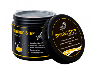 "Maska do kopyt Black Horse ""Strong Step"" 500ml 24h"