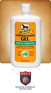 "Absorbine ""Veterinary Liment Gel"" 340 g 24h"