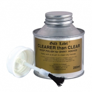 "Lakier do kopyt Gold Label ""Clearer Than Clear"" 250ml"