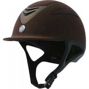"Kask Equi Theme ""Air Chocolate"""