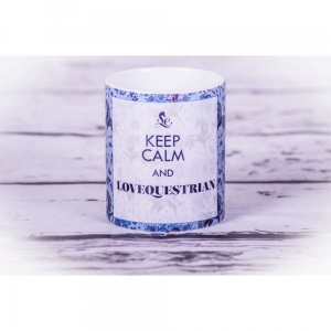 "Kubek Lovequestrian ""Keep Calm"" 24h"