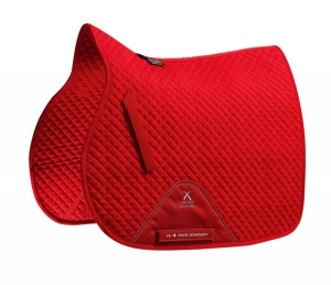 "Czaprak PREMIER EQUINE ""Plain Cotton Jumping"" red"