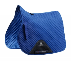 "Czaprak PREMIER EQUINE ""Plain Cotton Jumping"" royal blue"