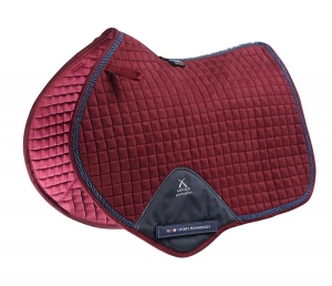 "Czaprak PREMIER EQUINE ""Techno Suede Close Contact Jump""  burgundy"