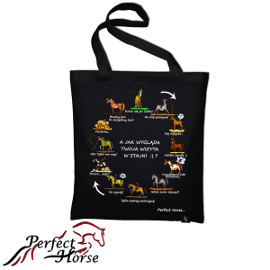 "Torba zakupowa Perfect Horse ""Cartoon Wizyta"" 24h"
