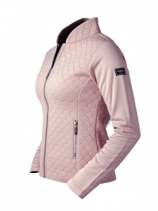 "Bluza damska Equestrian Stockholm ""Next Generation"" dusty pink 24h"