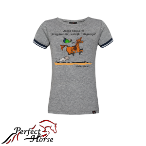 "T-shirt damski Perfect Horse ""Cartoon II Elegancja"""