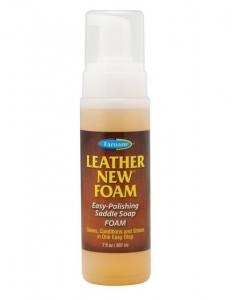 "Mydło w piance Farnam ""Leather New Foam"" 207 ml"