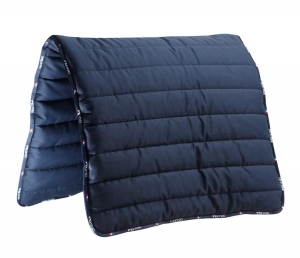 "Pad PREMIER EQUINE ""Buster Pad Reversible"" navy 24h"