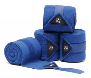 "SALE Bandaże polarowe PREMIER EQUINE ""Polo"" 4 m royal blue 24h"