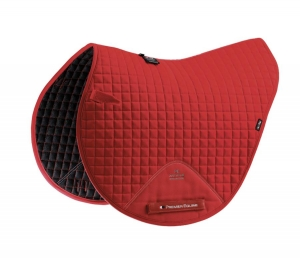 "Czaprak PREMIER EQUINE ""Cotton Close Contact Cross"" red"