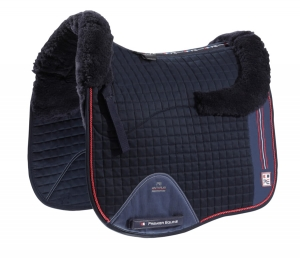 "Czaprak PREMIER EQUINE ""Sports Wool Cotton Dressage"" navy"