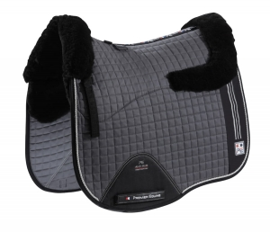 "Czaprak PREMIER EQUINE ""Sports Wool Cotton Dressage"" grey"