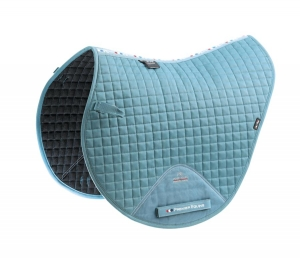 "Czaprak PREMIER EQUINE ""Cotton Close Contact Cross"" turquoise 24h"