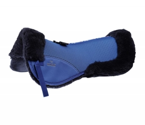 "Podkładka PREMIER EQUINE ""Shockproof Merino Wool"" royal blue"