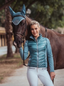 "Kurtka Equestrian Stockholm ""Active Performance Steel Blue"""
