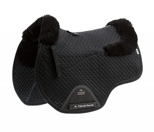"Czaprak PREMIER EQUINE ""GP Jumping Square Wool"" black"
