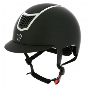 "Kask Equi Theme ""Airy"" black, silvery colour"