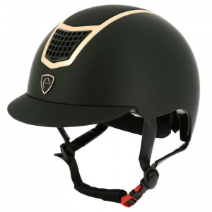 "Kask Equi Theme ""Airy"" black, rose gold"