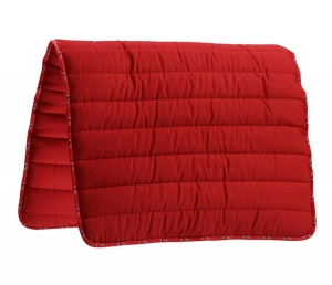"Pad PREMIER EQUINE ""Buster Pad Reversible"" red 24h"