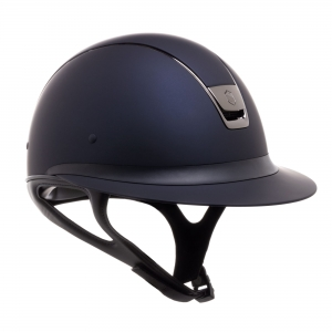 "Kask Samshield ""Miss Shield Shadowmatt"" black chrom granatowy 24h"