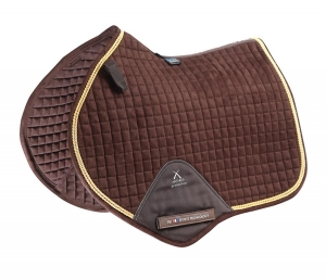 "Czaprak PREMIER EQUINE ""Techno Suede Close Contact Jump""  brown"
