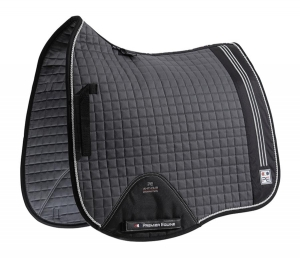"Czaprak PREMIER EQUINE ""Sports Cotton Dressage"" grey"