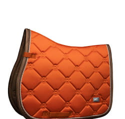 "Czaprak skokowy Equestrian Stockholm ""Brick Orange Jump"" AW2019 full"