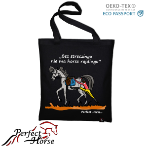 "Torba zakupowa Perfect Horse ""Cartoon Streczing"""