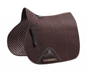 "Czaprak PREMIER EQUINE ""Plain Cotton Jumping"" brown"