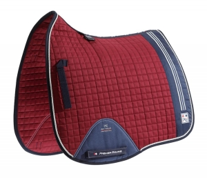 "Czaprak PREMIER EQUINE ""Sports Cotton Dressage"" burgundy"