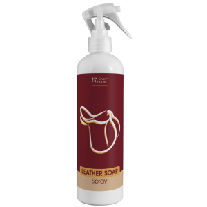 "Mydło do skór OVER HORSE ""Leather Soap Spray"" 400 ml 24h"