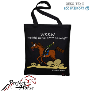 "Torba zakupowa Perfect Horse ""Cartoon WKKW"""