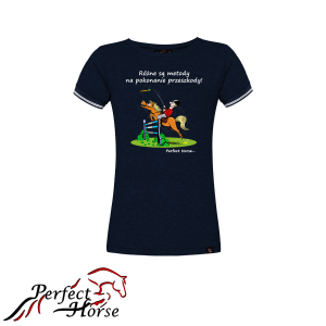 "T-shirt damski Perfect Horse ""Cartoon Metody"""