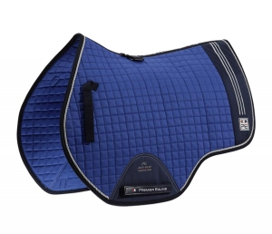 "Czaprak PREMIER EQUINE ""Sports Cotton Jump"" royal blue 24h"