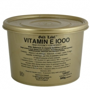 "Witamina E Gold Label ""Vitamin E 1000"" 500g"