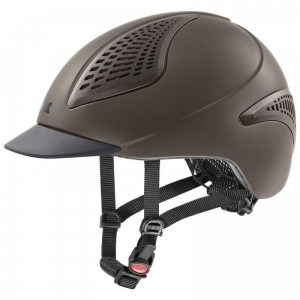 "Kask UVEX ""Exxential II"" mocca"