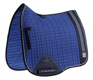 "Czaprak PREMIER EQUINE ""Sports Cotton Dressage"" royal blue"