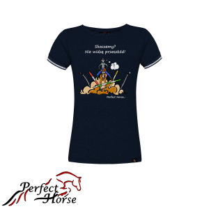 "T-shirt damski Perfect Horse ""Cartoon II Skaczemy"""