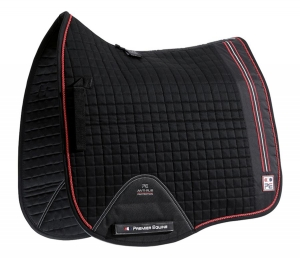 "Czaprak PREMIER EQUINE ""Sports Cotton Dressage"" black"
