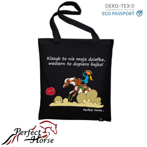 "Torba zakupowa Perfect Horse ""Cartoon Western"""