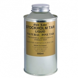 "Dziegieć Liquid Gold Label ""Stockholm Tar"""