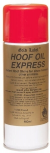 "Olej do kopyt Gold Label ""Hoof Oil Express"" 400 ml"