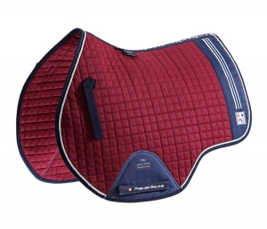 "Czaprak PREMIER EQUINE ""Sports Cotton Jump"" burgundy"