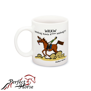 "Kubek Perfect Horse ""Cartoon WKKW"" 24h"