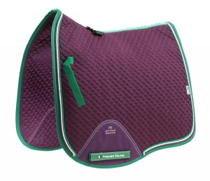 "Czaprak PREMIER EQUINE ""Dressage Square"" purple"